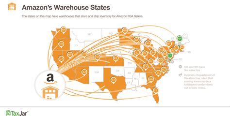 Where are all Amazon Fulfillment Centers?