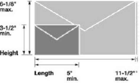 letter size envelope sizes for letters postal explorer