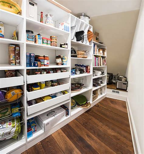 Narrow Closet Shelving by Stairs Pantry Shelving System To Organize Pantry