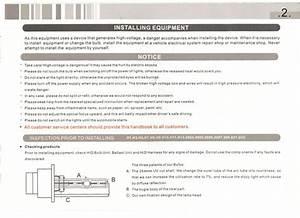 Hid Installation Manual Guide Setup Xenon Kit H1 H3 H4 H7