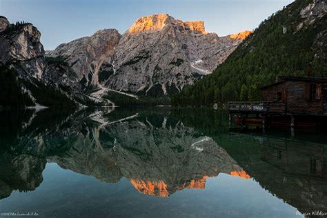 Lago Di Braies Dolomites Italy