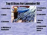 Lavender Oil Uses Photos