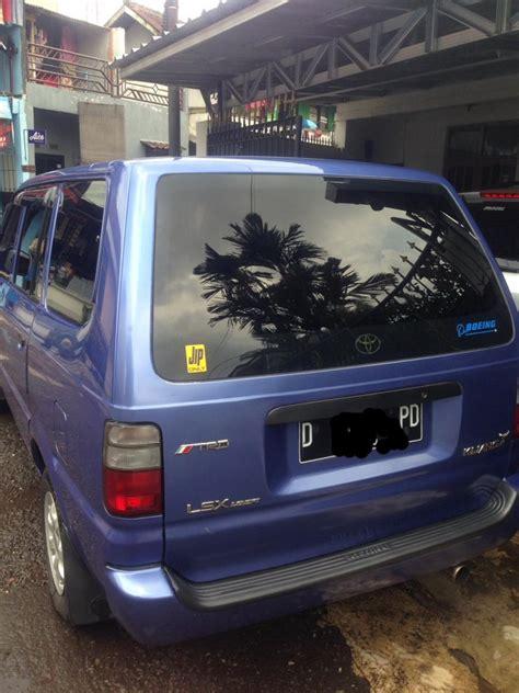 Jual Klakat Bekas jual mobil bekas toyota kijang kapsul type lsx tahun 2001