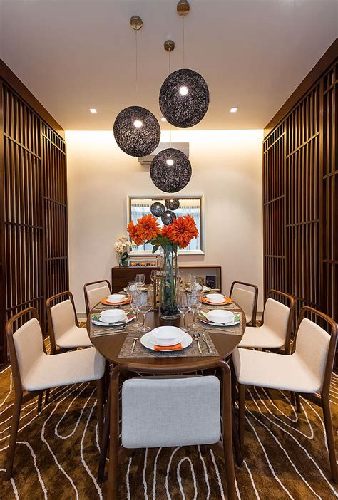 Serene And Practical 40 Asianstyle Dining Rooms Dining