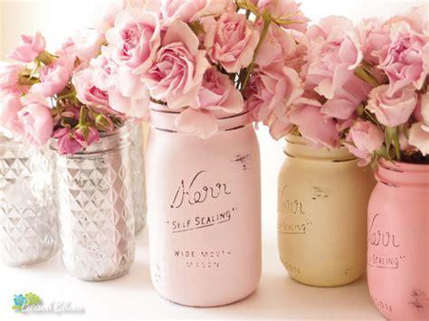 I Heart Mason Jars   two pink canaries