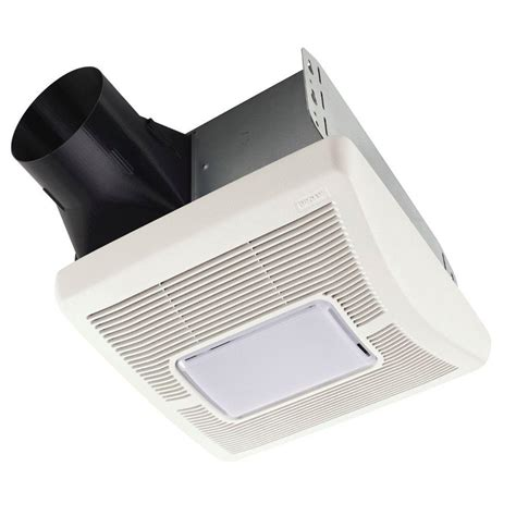 broan invent series 110 cfm ceiling bathroom exhaust fan with light a110l the home depot