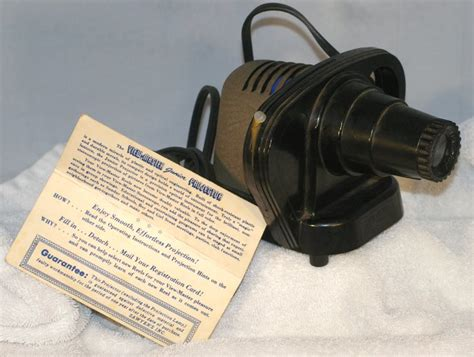 working sawyers viewmaster junior projector from 1950s
