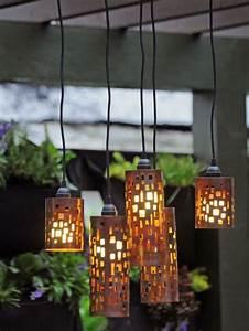 Blumen Von Der Decke Hängen : lampen die von der decke h ngen selber gemacht lampe selber machen 30 einmalige ideen ~ Markanthonyermac.com Haus und Dekorationen