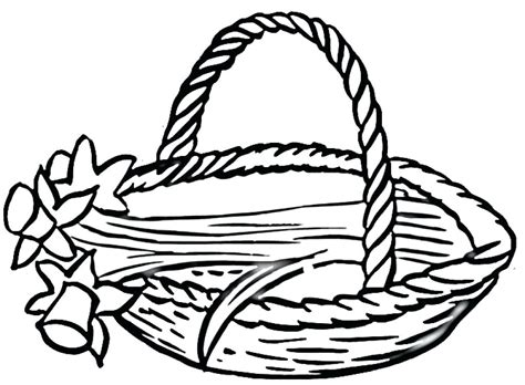 Picnic Basket Drawing At Getdrawings.com