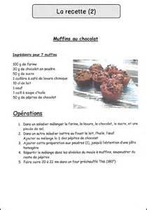 fiche recette de cuisine la recette mimiclass