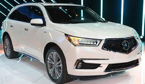 2020 Acura MDX : 2020 Acura Mdx Msrp Redesign A-spec, Fuel, Economy, First