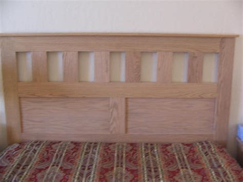 craftsman style queen sized headboard buildsomethingcom