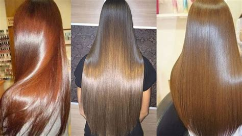 Glossy Black Hair by How To Get Glossy Hair Silky And