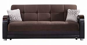 luna naomi brown sofa bed by sunset w options With luna sofa bed