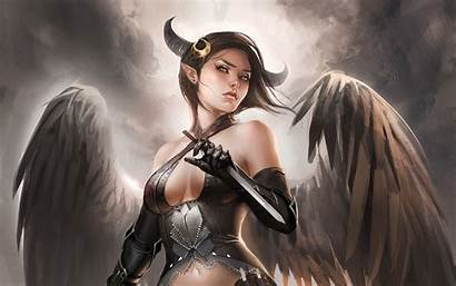 Demon Female Devil Half Lancer Hdpicorner