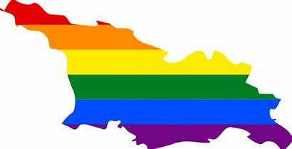 Lgbt Georgia Flag Map Anti Discrimination Wikipedia