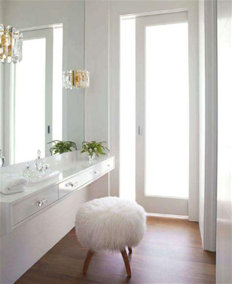 floating makeup vanity floating vanity contemporary bathroom house beautiful