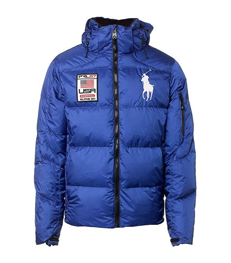 polo ralph tyrol jacket in blue for lyst