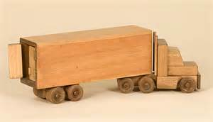 build wooden toy truck Custom House Woodworking