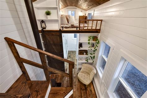 Minihäuser Tiny House by Tiny House Town Rustic Tiny From Mint Tiny House Company