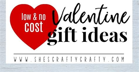 no cost gift ideas she s crafty low and no cost s day gift ideas