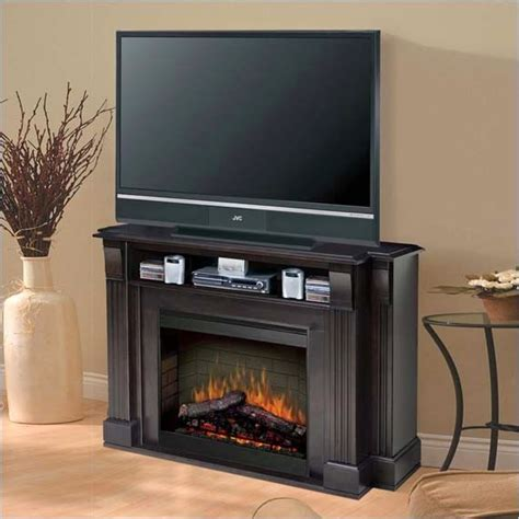 fireplace tv stand lowes tv stand with fireplace review ayanahouse