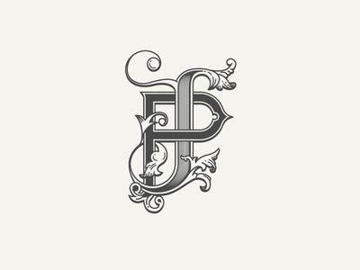 fuzzco lettering design monogram design monogram tattoo