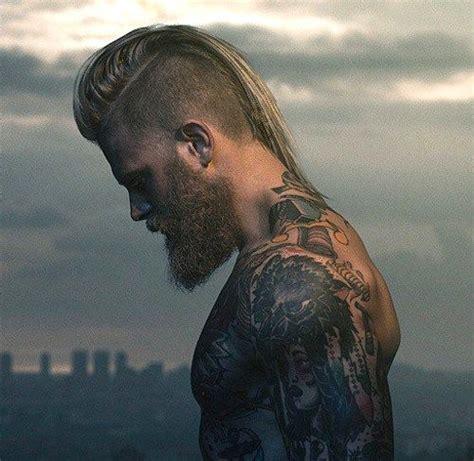 upscale mohawk hairstyles  men sleeve tattoo ideas
