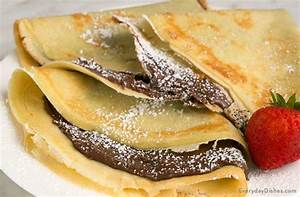 Easy Stuffed Chocolate Hazelnut Nutella Crepes Recipe Video