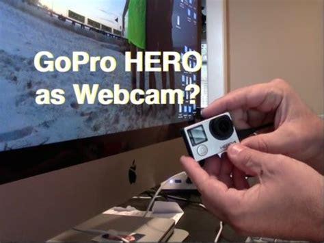gopro hero webcam mac doesnt work