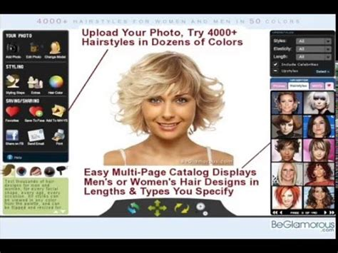 hair style software try on hairstyles upload your photo change