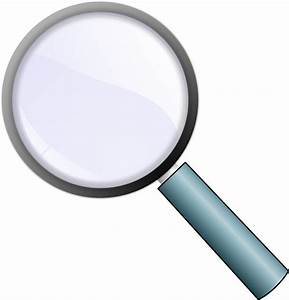 Simple Magnifying Glass icon vector   Free PSD,Vector,Icons