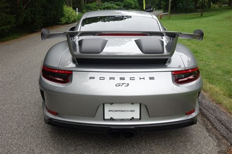 2018 Porsche 911 Gt3 Gt Silver Metallic For Sale Long