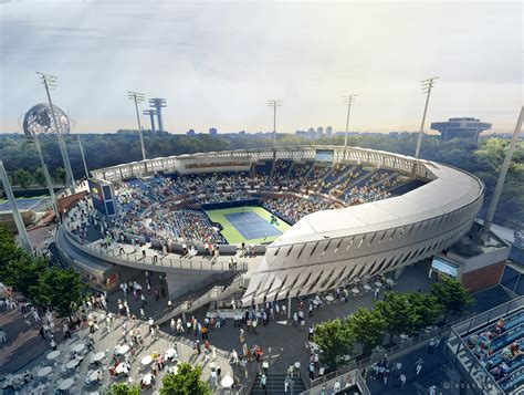 New Grandstand Tennis Stadium Gears Up For 2019 Us Open