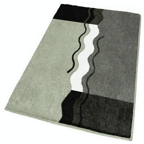 bath rug gray contemporary bath mats