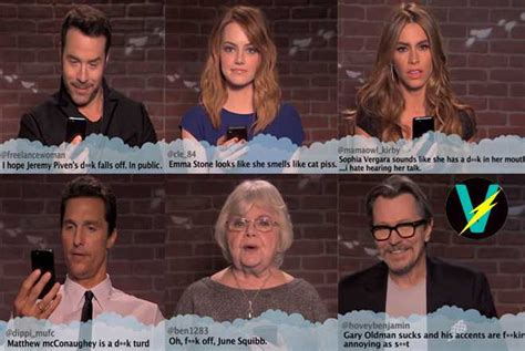 sofia vergara mean tweets jimmy kimmel s celebs reading mean tweets just gets better