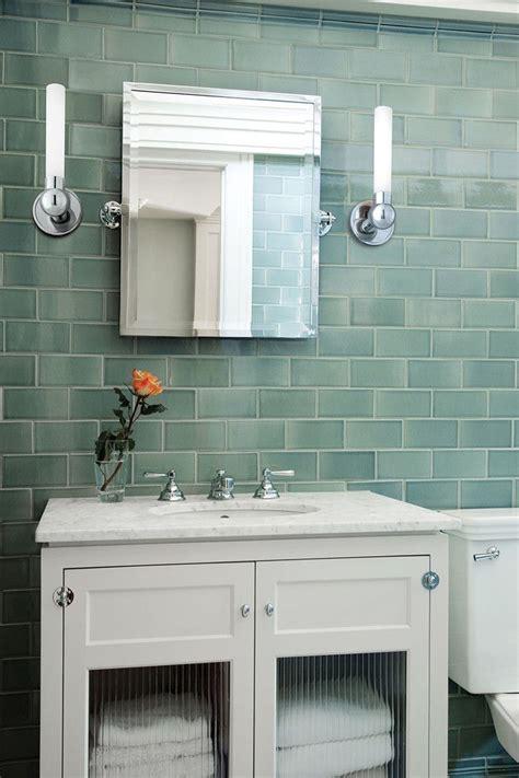 sea glass bathroom ideas best 25 glass tile bathroom ideas only on