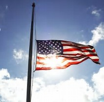 Image result for flags at half staff