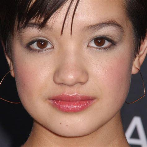 peyton elizabeth lee makeup beige eyeshadow black