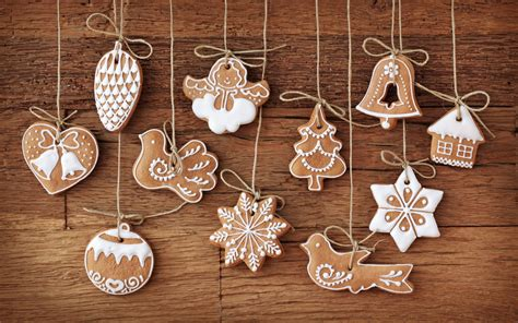 biscuits in design of christmas items all seem delighted