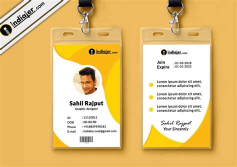 Multipurpose Corporate Office Id Card Free Psd Template Business Card Designs Svg Visiting New Free Voice Over Ideas For Bartenders Remodeling Cards Pic Pdf