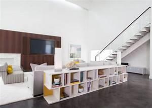cube rangement une etagere multifonction incontournable With meuble pour separation de piece