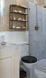 Brass Fixtures and B/W Toilet | Best interior, Interior ...