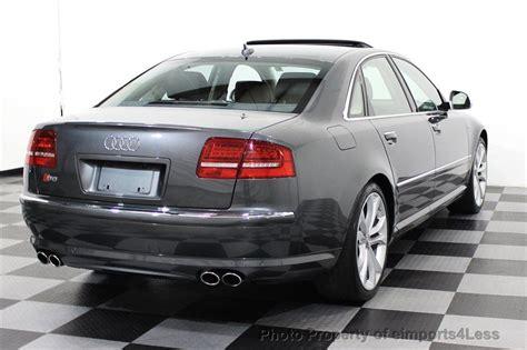 2008 Used Audi S8 V10 Quattro Awd Sedan Navigation At