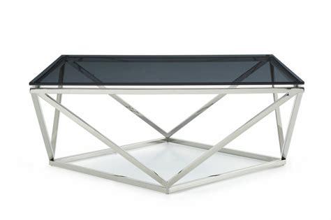 Modrest Vector Modern Smoked Glass & Stainless Steel