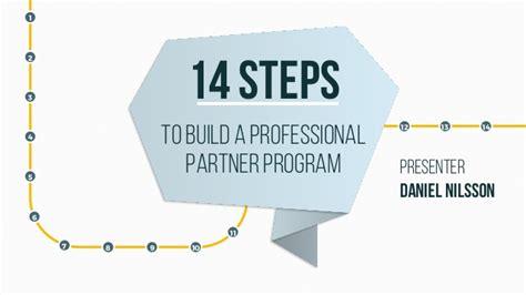 steps  build  professional reseller partner program