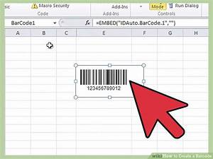 how to create a barcode 13 steps with pictures wikihow With how to create barcodes in word