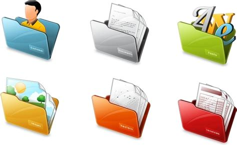 Windows 10 Folder Icons Pack Free Icon Download (15,841