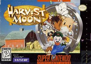 Harvest Moon The Harvest Moon Wiki Fandom Powered By Wikia