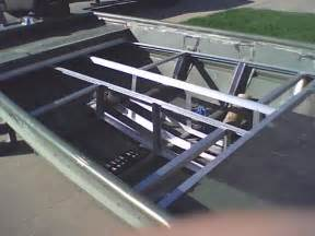 jon boat deck plans timotty info building aluminum boat deck